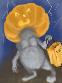 Pumpkin'Headed Critter.