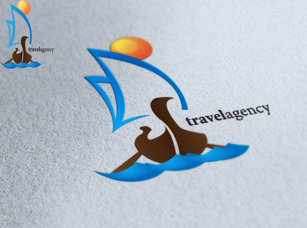Travel agency logo design by andycoco on deviantart for Design agency