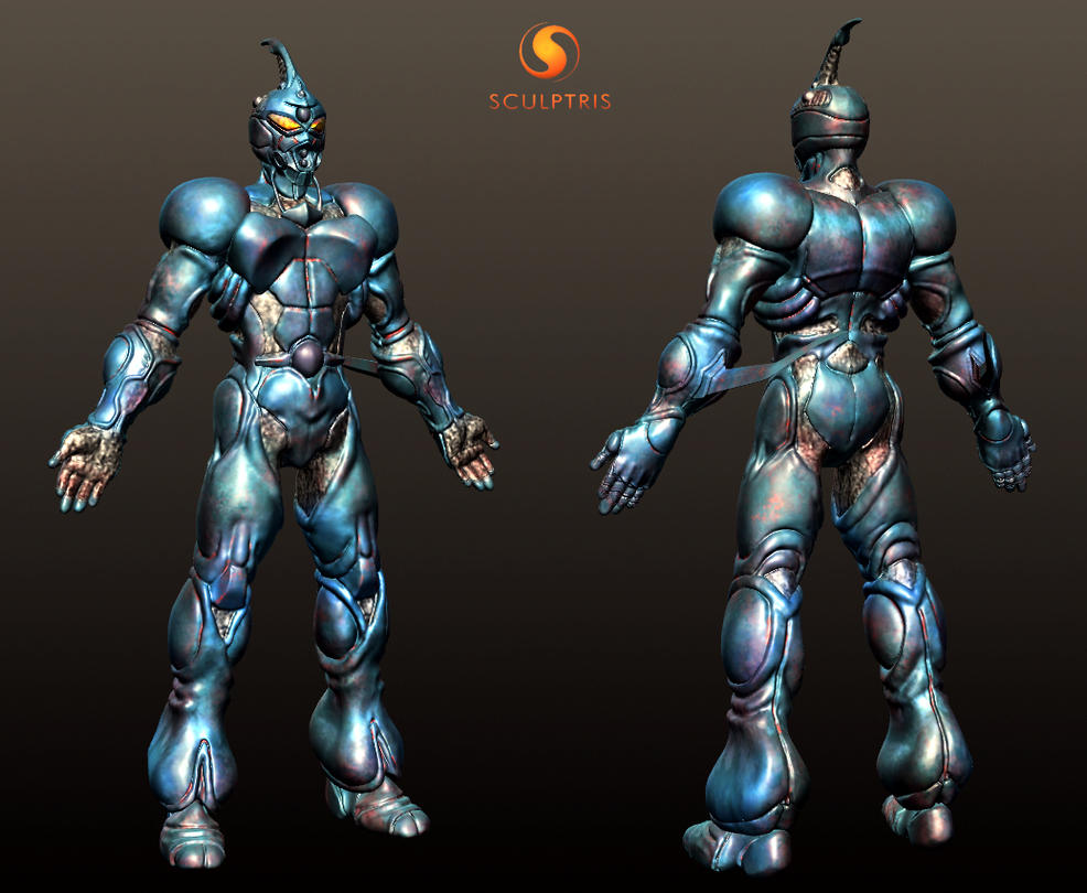 guyver bio booster armor 3d model by ghostcapi on guyver bio booster armor 3d model by ghostcapi