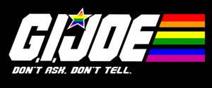 G.I. Joe Gay Pride