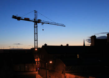 Dawn Over Limerick April 26th 2013 by Yautja-Steve