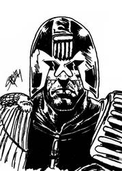 Judge Dredd by Yautja-Steve
