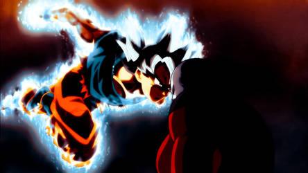 DBS 110 - Goku Ultra Instinct/Omen Vs Jiren - Edit by GokuYume