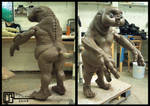 Baby Slitheen Sculpture