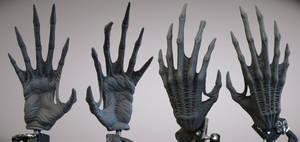 Alien Hand Palm
