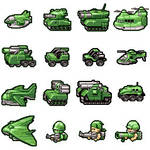 OLD OLD  old Battalion wars icons