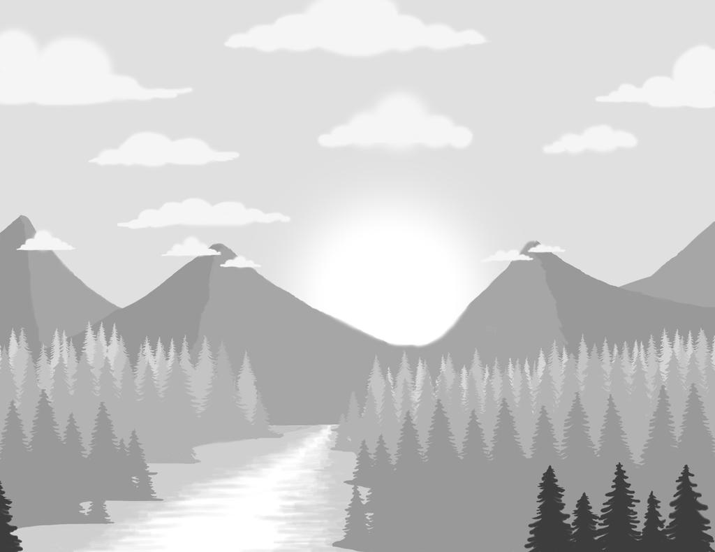 Landscape Practice 1 by SophieKoryn