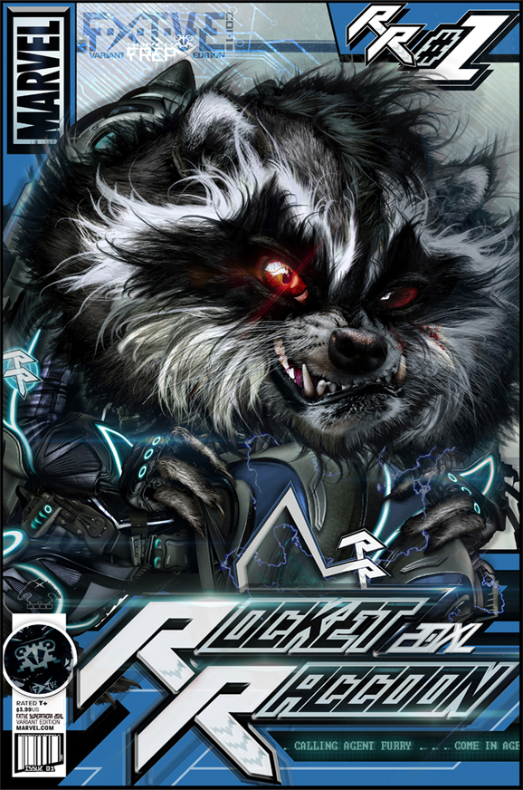 Rocket Raccoon 20XL #1 Comic by RAWhale
