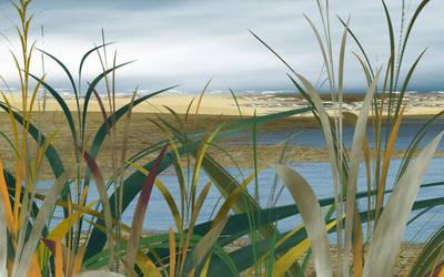 Ocean Dunes by kesuf
