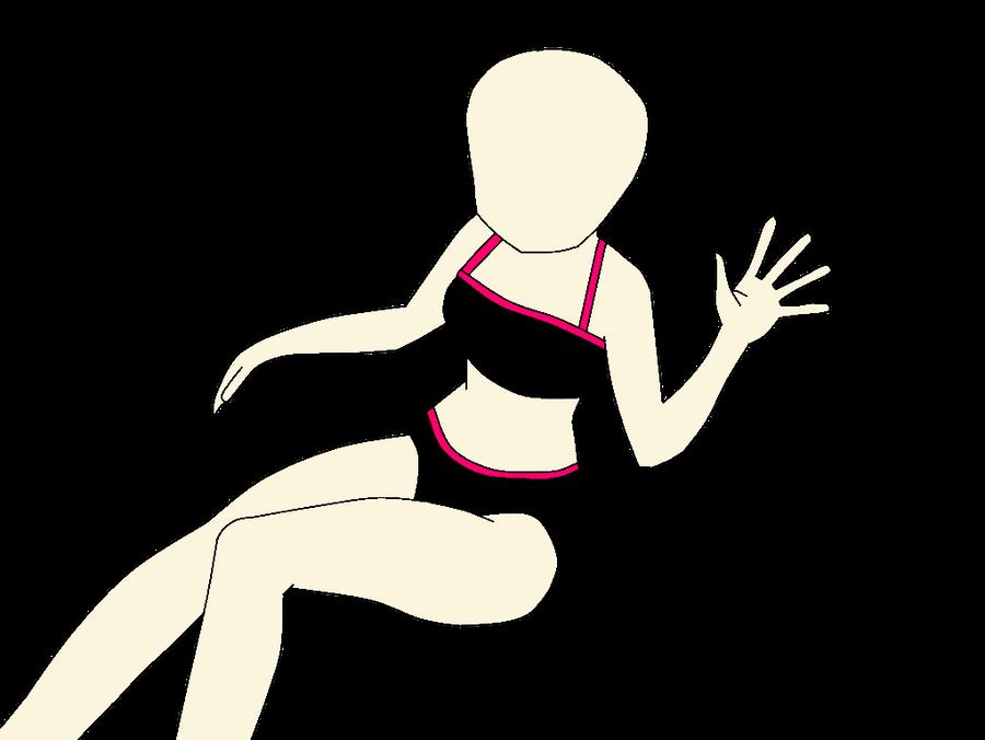 Bikini girl base by QueenKordeilia