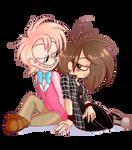 [2p HETALIA] Sassy duo by WhiteeRosee