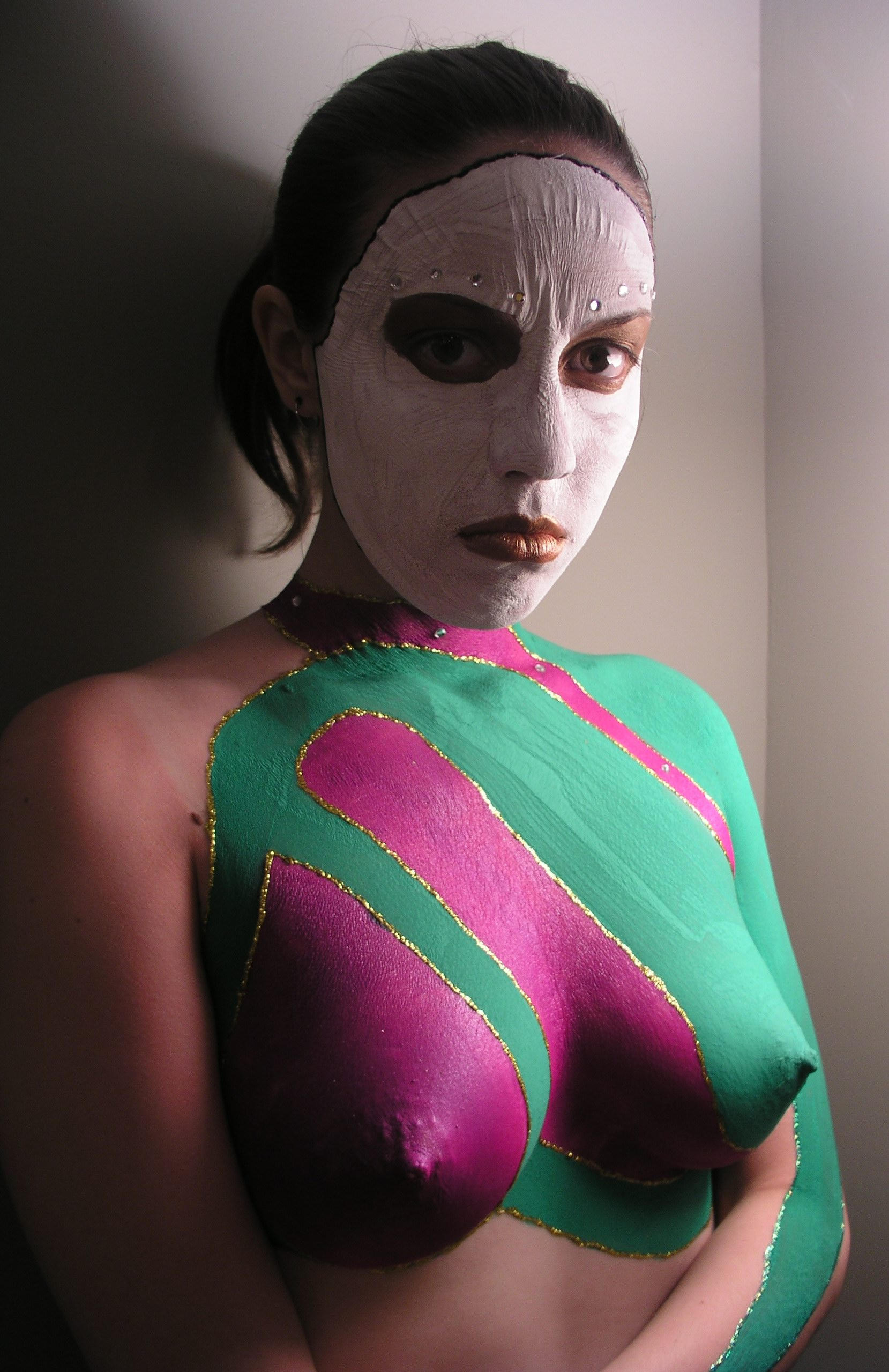 Body Painting In Public | New Calendar Template Site