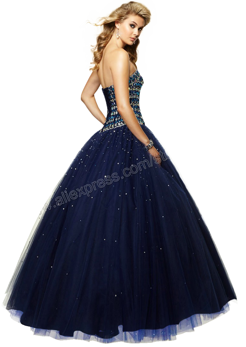 Blonde Girl #3 Prom dress -render-png by Charley1990B on ...