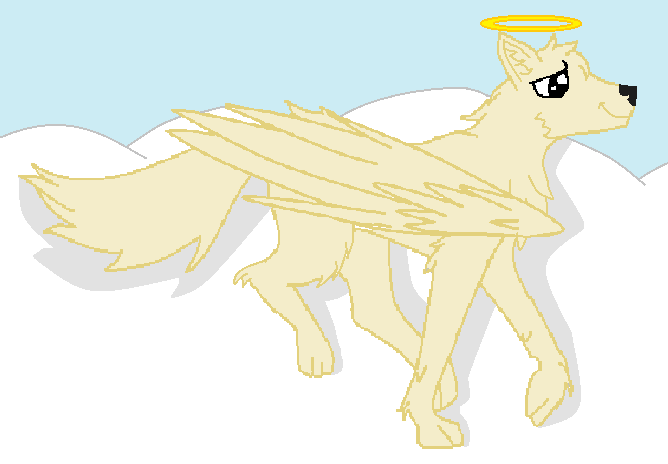 Winged Wolf by Untamed407