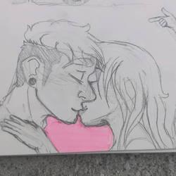 kiss [morning greeting]