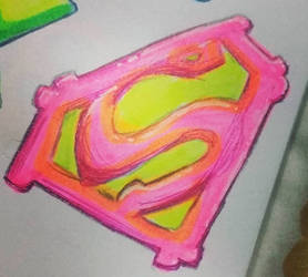 Supergirl symbol by TheOrangeDaisy