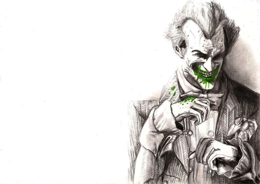 Batman Arkham City Joker Drawing by onchonch on DeviantArt