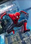 MCU Spider-Man (Civil War FanArt)