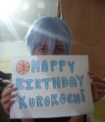 Happy b-day Kuroko!! by kinomotochan