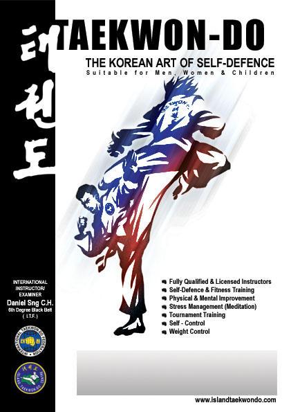 Taekwon-do Poster by bluepencil on DeviantArt