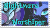 Nightmare Worshiper Stamp by TheNarffy