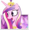 Princess Cadance Boader-Break Stamp by TheNarffy