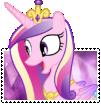 Princess Cadance Boader-Break Stamp by TheNarffy