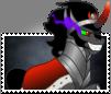 King Sombra Boarder-Breaker Stamp by TheNarffy