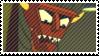 Robot Devil Stamp by TheNarffy