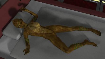 Lizard girl by SlimerJSpud