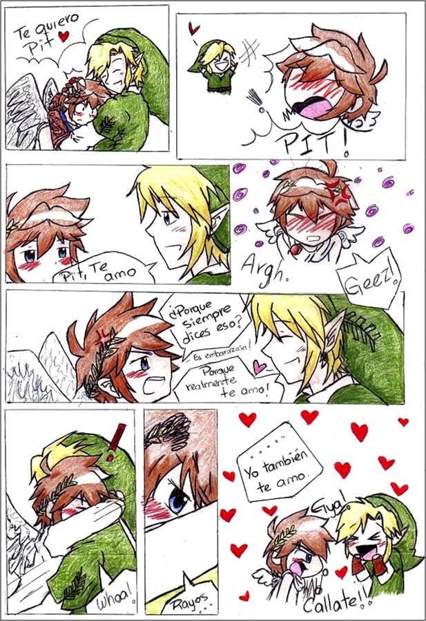I love u too ... LinkxPiT by Tsubaki-Rishii