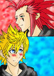 Axel and Roxas Color Version