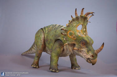 Custom - Sinoceratops Mattel - Jurassic World 2 by brolyss4