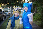 Tails and Sonic Cosplay by Opposites