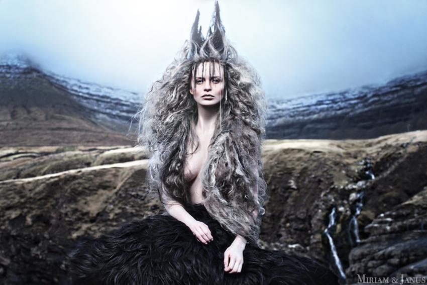 Agnes Queen of Faroe Islands II by MiriamJanus