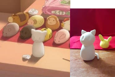 Fruits Basket: Clay Chinese Zodiac figures