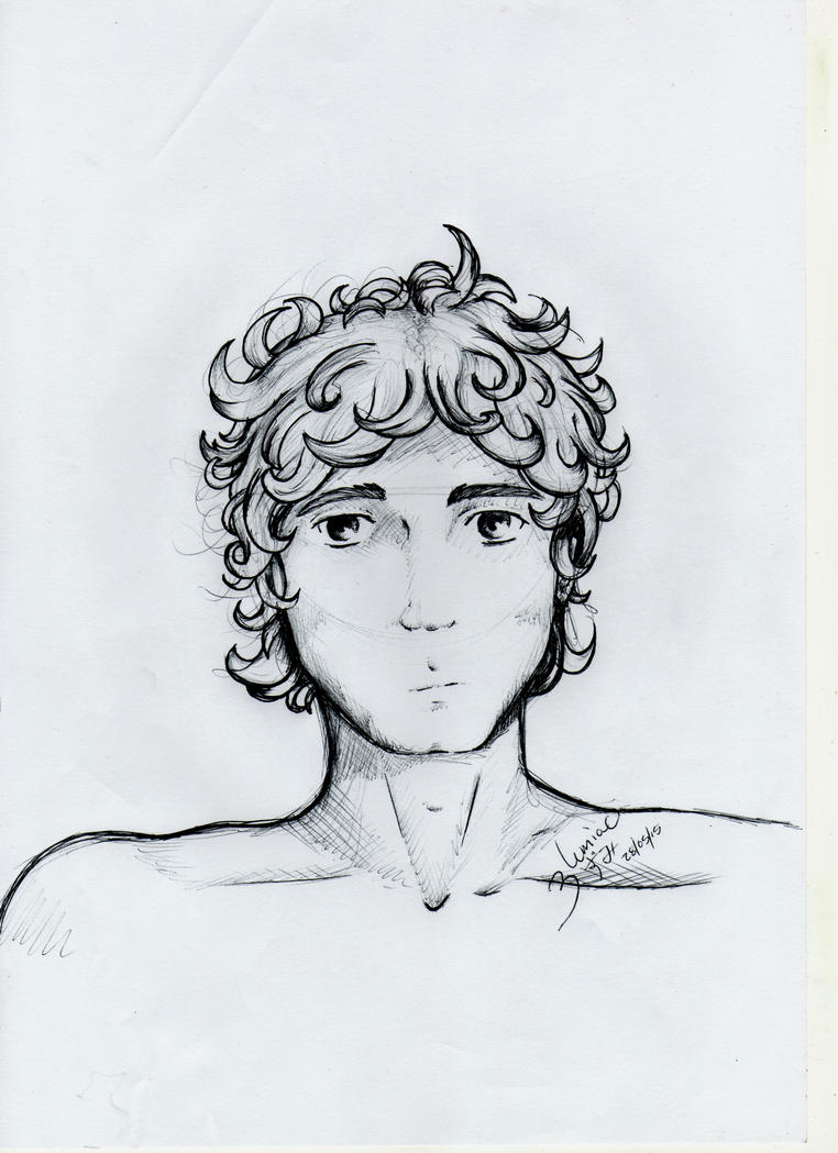 Curly Hair Boy Images Stock Photos amp Vectors  Shutterstock