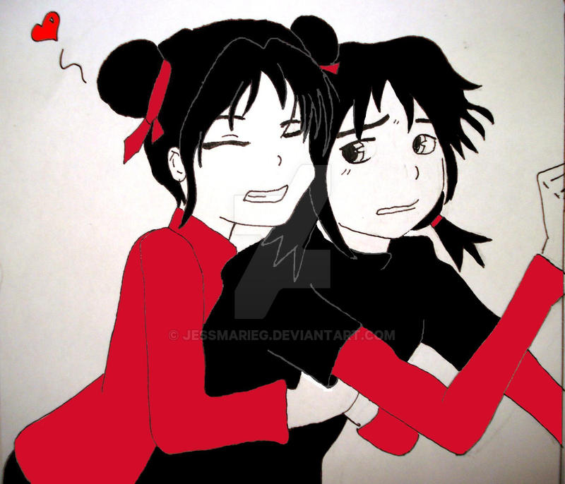 pucca and garu by jessmarieg on DeviantArt