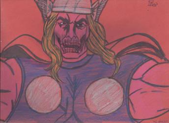 13 Days Halloween Zombie Thor by JohnReynolds