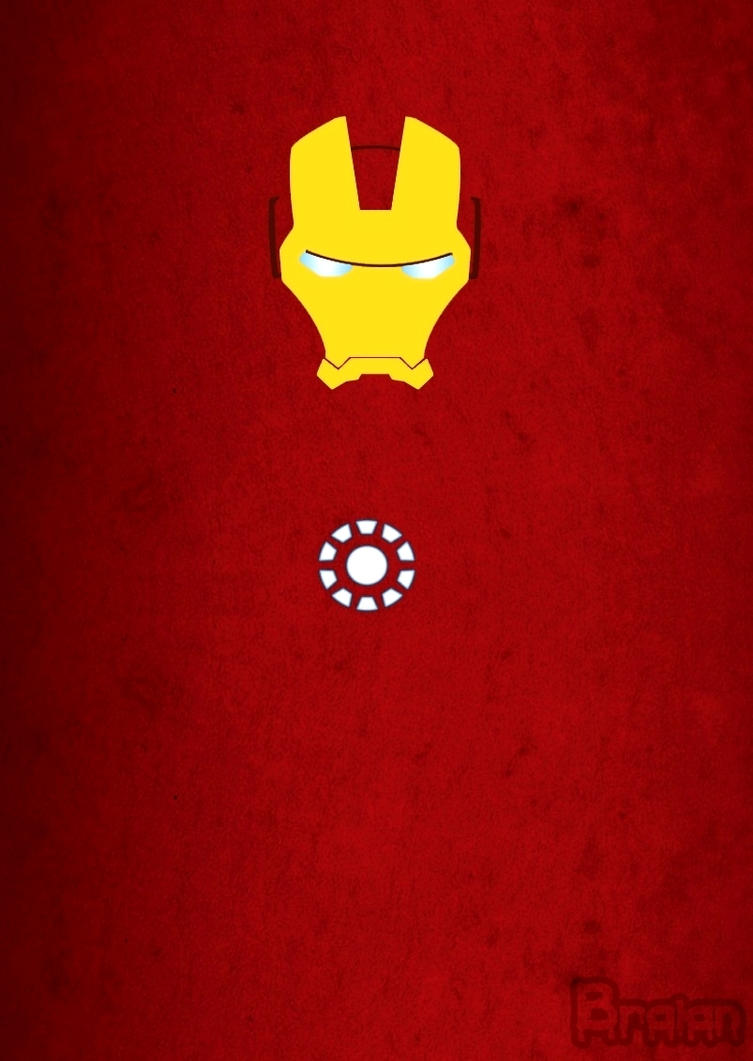 Iron man minimalist art by braianmaster on deviantart for Art minimaliste artiste