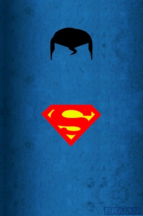 Super man minimalist art by braianmaster on deviantart for Minimal art reddit