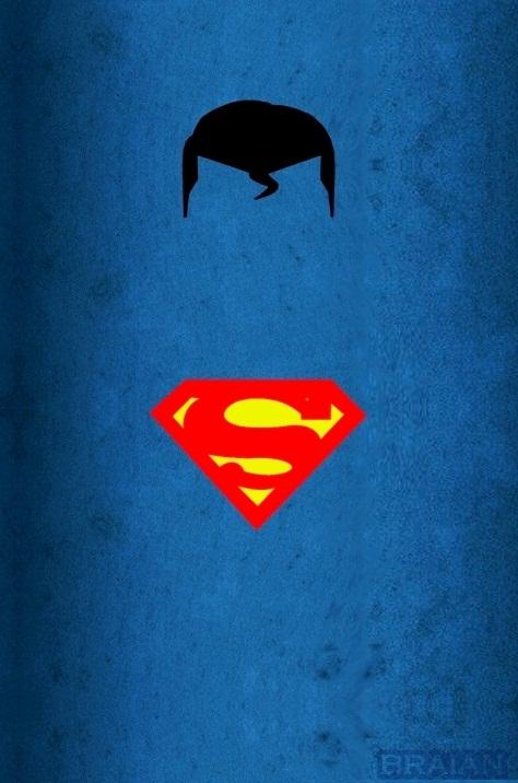 Super man minimalist art by braianmaster on deviantart for Minimal artwork