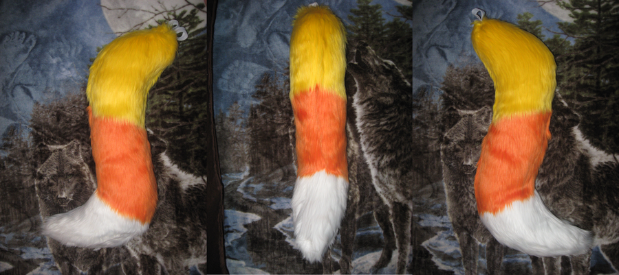 candy corn tail done for sale by HVC333