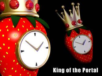 Strawberry Clock by RenegadeClock