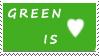 DA Stamps: I love green
