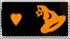 DA Stamps: I love halloween by eleoyasha