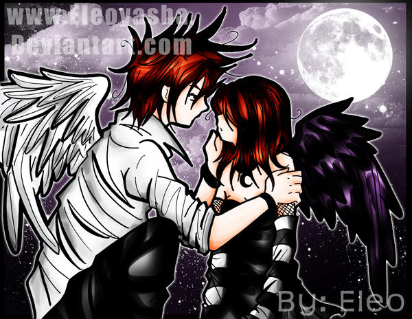 EK: Save me engel. by eleoyasha