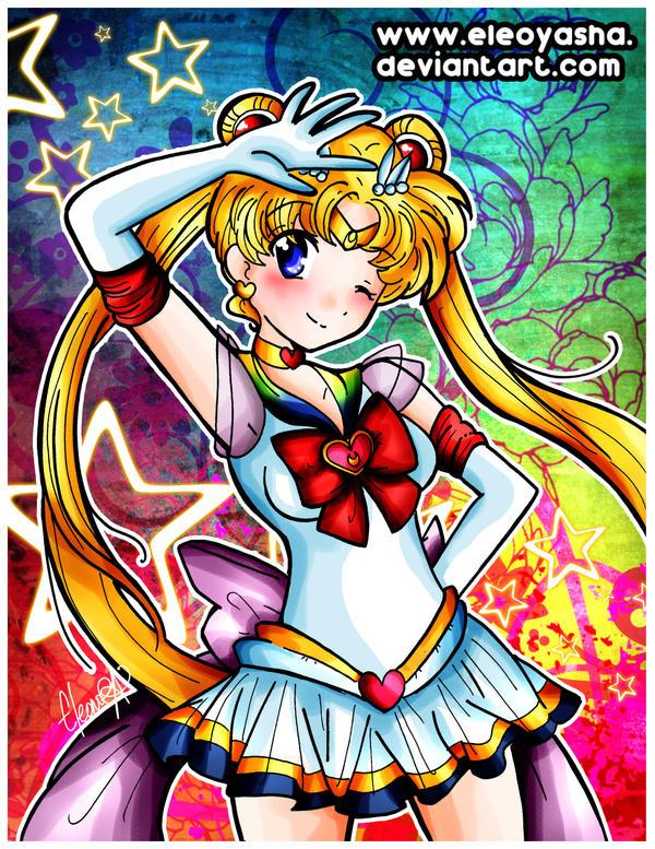 Super Sailor Moon by eleoyasha
