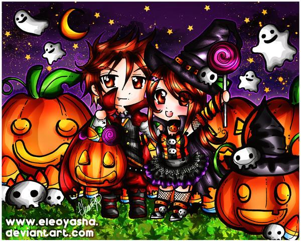 Happy Halloween 2014 by eleoyasha