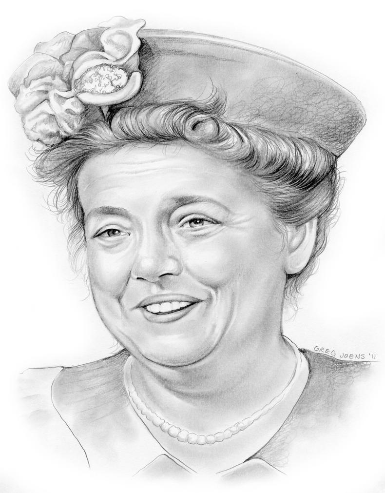 Aunt Bee by gregchapin